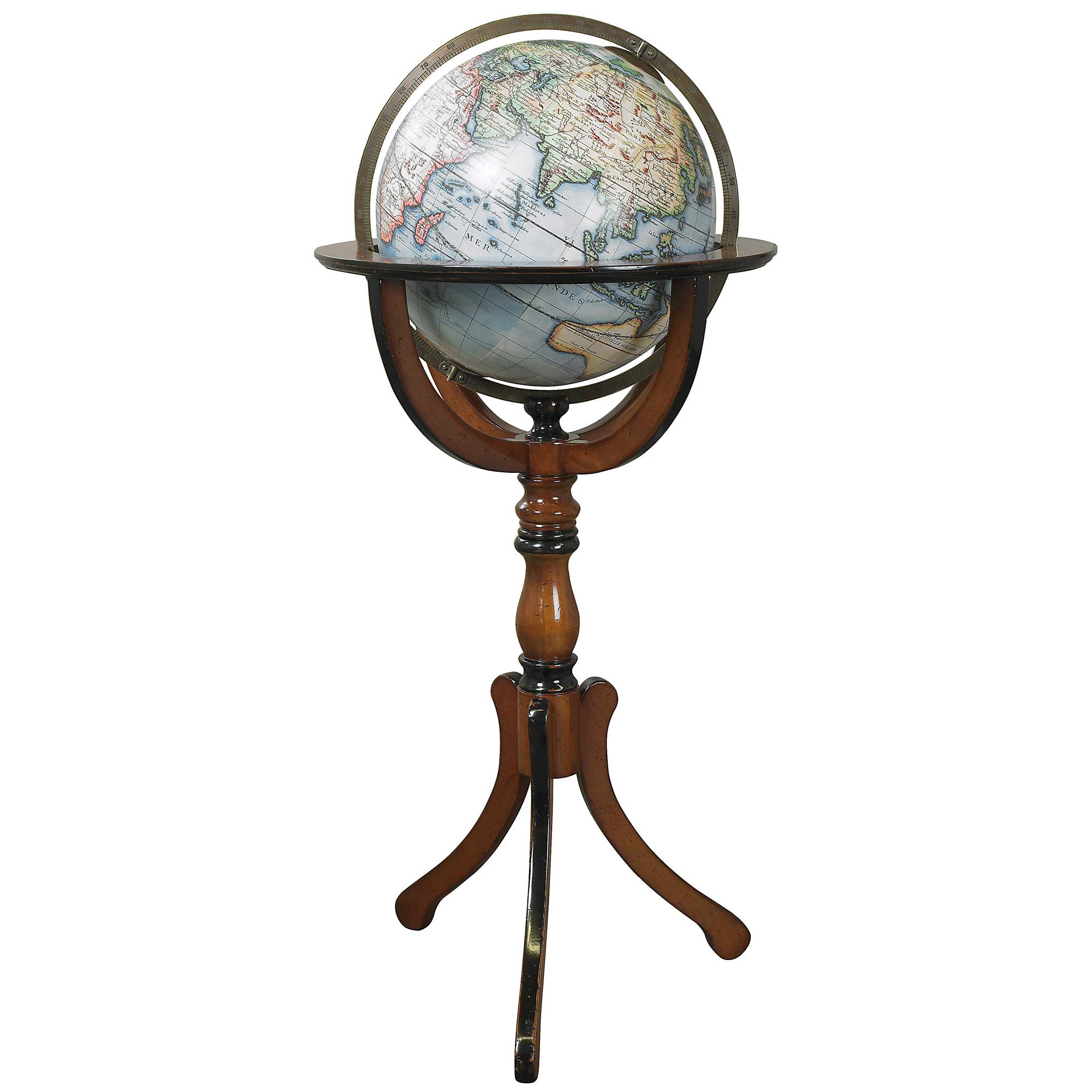 pin gold stand globe with vespucci floor world white floors