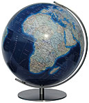 Variant of the Duo Alba World Globe with a cartography Azzurro